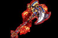Fury Flame Ax Halwell Beak