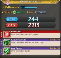 FLB Blade of Guilty Lust +99
