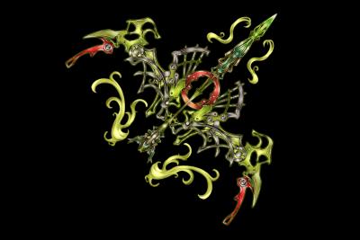 Emerald Bow Mistilteinn