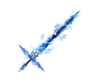 Curse Ice Sword Cryo Shree