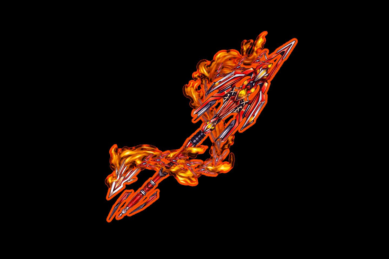 Crimson Chain Spear
