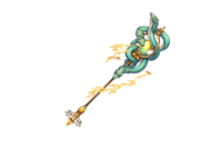 Mysterious Snake Staff