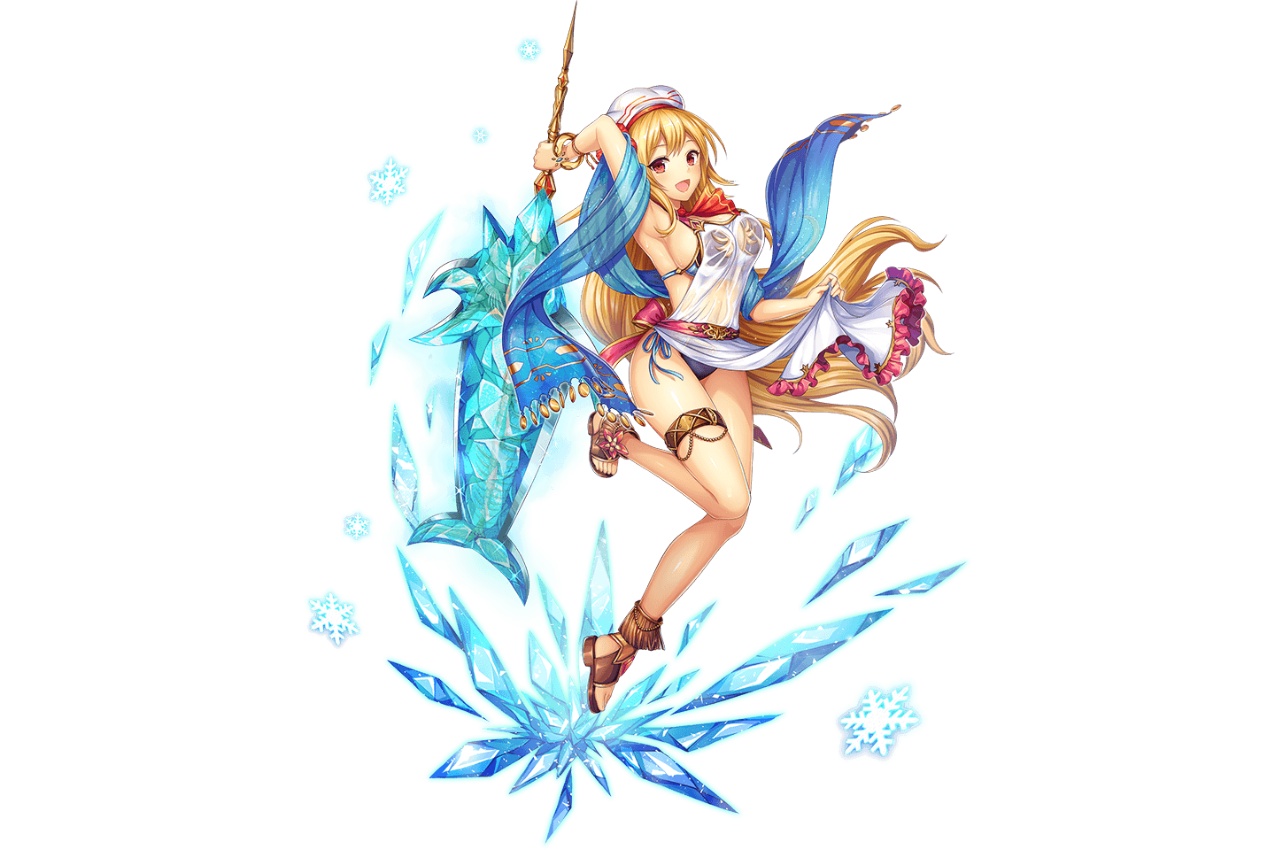 (Ice Sword Fish) Hestia