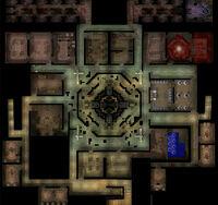 Second basement floor of the laboratory.