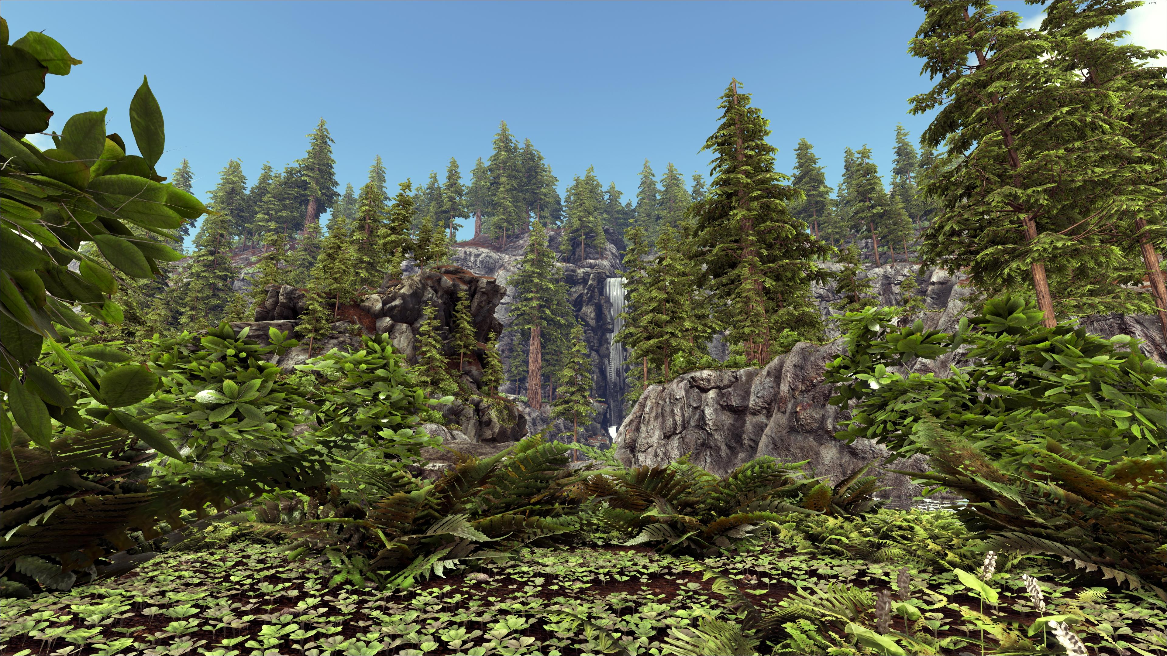 Redwoods Ragnarok Ark Survival Evolved Map Wiki Fandom