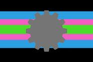 The FemRobotosexual Flag