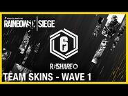 Rainbow Six Siege- R6Share Skins Trailer - Ubisoft -NA-
