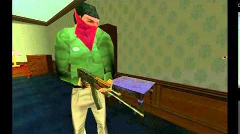 Tom Clancy's Rainbow Six AK 47