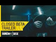 Tom Clancy's Rainbow Six Siege Official – Closed Beta Trailer