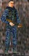 Russian soldier in Kosovo