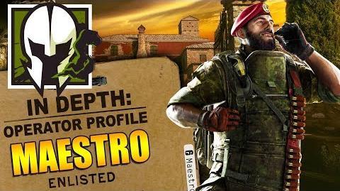 Rainbow Six Siege - In Depth How to Play MAESTRO - Operator Profile