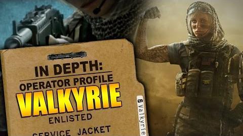 Rainbow Six Siege - In Depth Operator Profile VALKYRIE