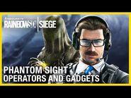 Rainbow Six Siege- Phantom Sight Operators Gameplay and Gadget Starter Tips - Ubisoft -NA-