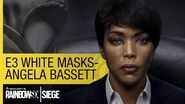 Tom Clancy's Rainbow Six Siege Official – E3 2015 White Masks Reveal – Angela Bassett US
