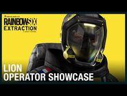 Rainbow Six Extraction- Lion - Operator Showcase - Ubisoft -NA-