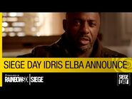 Tom Clancy's Rainbow Six Siege Official – Siege Day Idris Elba Announcement -NA-