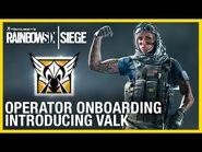 Rainbow Six Siege- Operator Onboarding - Introducing Valkyrie - Ubisoft -NA-