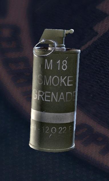 Smoke Grenade/Siege