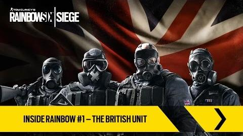 Tom Clancy's Rainbow Six Осада - знакомьтесь с британскими оперативниками! RU