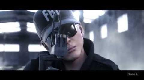 Rainbow Six 6 Siege ASH Trailer (rus)
