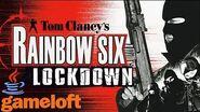 Tom Clancy's Rainbow Six Lockdown JAVA GAME (Gameloft 2005 year) FULL WALKTHROUGH