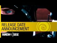 Tom Clancy's Rainbow Six Siege - Release Date Announcement Trailer -NA-