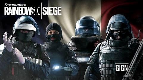 Inside Rainbow -3- The GIGN Unit - Tom Clancy's Rainbow Six Siege