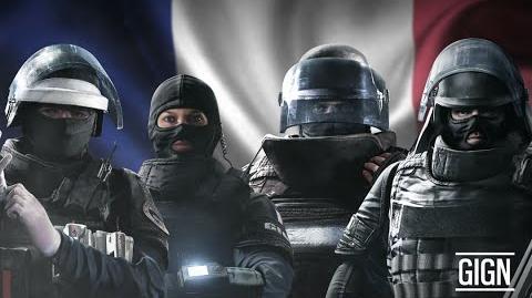 Tom Clancy's Rainbow Six Осада - Знакомьтесь с оперативниками GIGN! RU