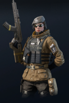 R6 Zofia armed with M762
