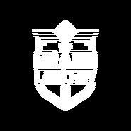 The Grand Larceny White Logo