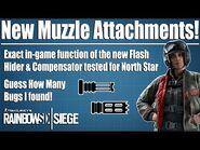 The New Flash Hider Is A BEAST - Rainbow Six Siege