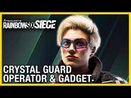 Rainbow Six Siege- Crystal Guard Operator Gadget Gameplay & Starter Tips - Ubisoft - -NA-
