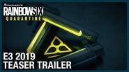 Rainbow Six Quarantine E3 2019 Teaser Trailer Ubisoft NA