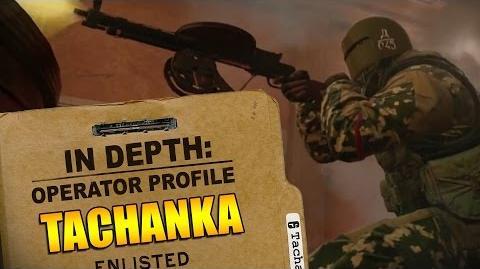 Rainbow Six Siege - Operator Profile TACHANKA-0