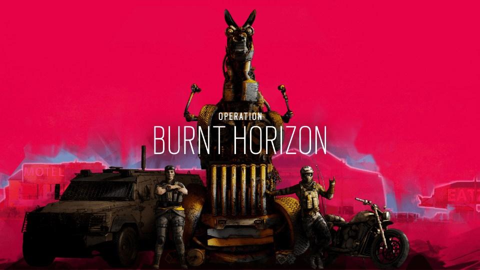 Tom Clancy's Rainbow Six Siege: Operation Burnt Horizon