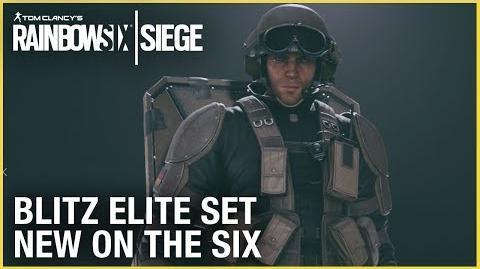 Rainbow Six Siege Blitz Elite Set - New on the Six Ubisoft NA