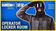 Rainbow Six Siege Operator Locker Room Compilation Ubisoft NA