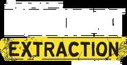 R6 Extraction Logo Yellow Ribbon White