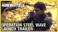 Rainbow Six Siege Operation Steel Wave – New Operators Reveal Trailer Ubisoft NA