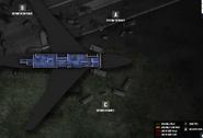 Presidential plane basement secure floor