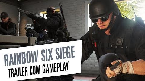 Rainbow Six Siege - Trailer Gameplay de Operadores Legendado