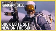 Rainbow Six Siege Buck Elite Set - New on the Six Ubisoft NA