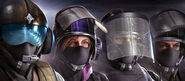 107.Jäger, IQ, Blitz and Bandit in the BPM Headgear Bundle