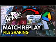 The EASIEST Way to Share Match Replays (PC)