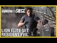 Rainbow Six Siege- Lion Elite Set - Resident Evil Collaboration - Ubisoft -NA-