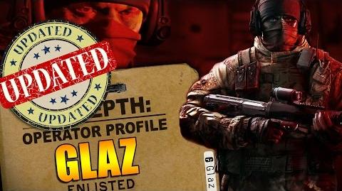 Rainbow Six Siege - In Depth UPDATED Operator Profile - GLAZ