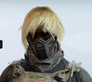 Valkyrie Fringe Check Facepiece Headgear