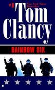 Tom Clancy - Rainbow Six cover