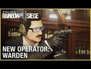 Rainbow Six Siege- Operation Phantom Sight - Warden - Trailer - Ubisoft -NA-