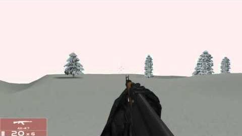 Tom Clancy's Rainbow Six 3 Raven Shield AK 47